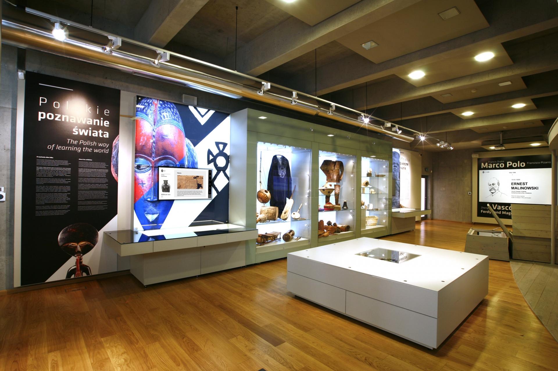 Widok na ekspozycję - Afryka