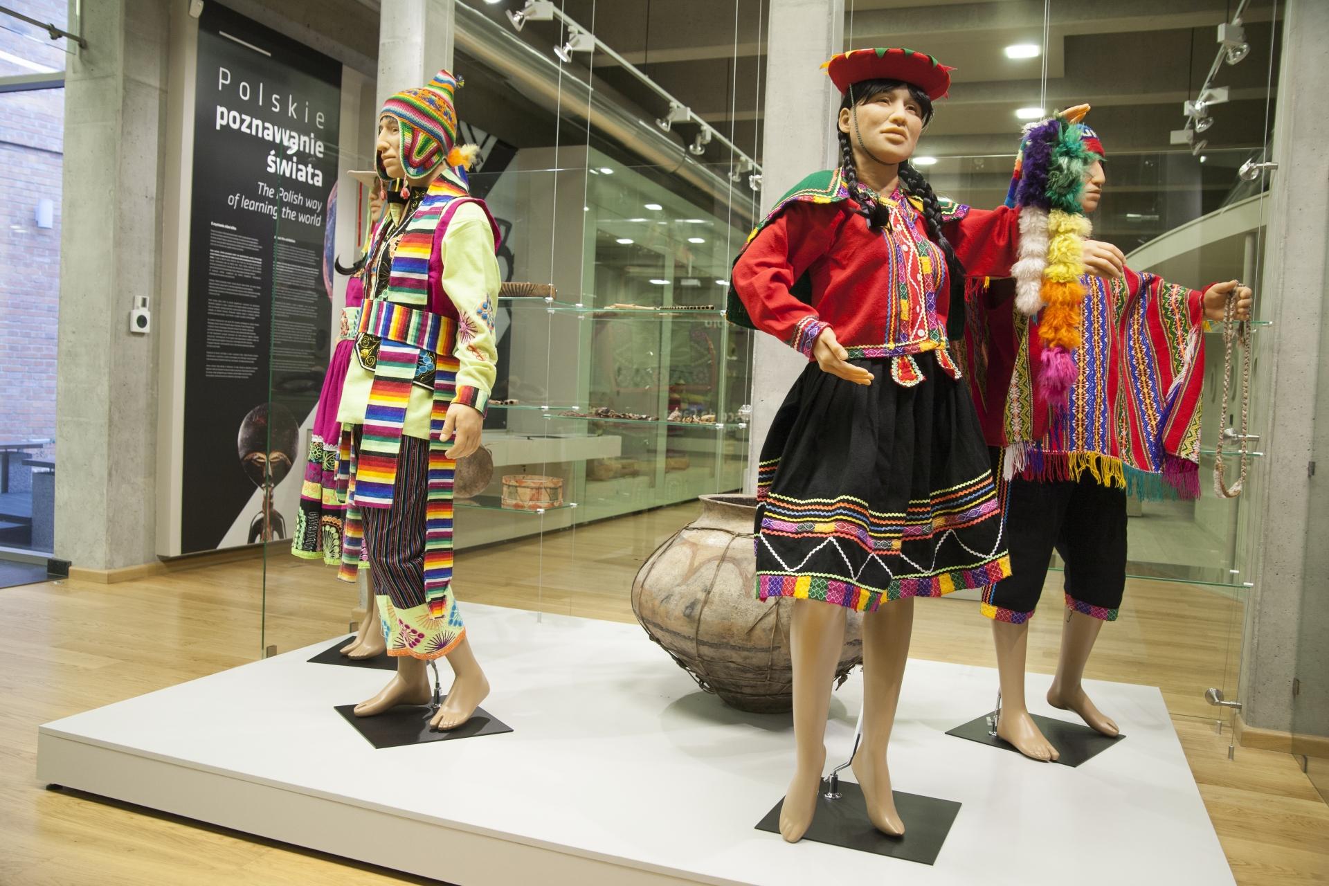 Widok na ekspozycję - Peru