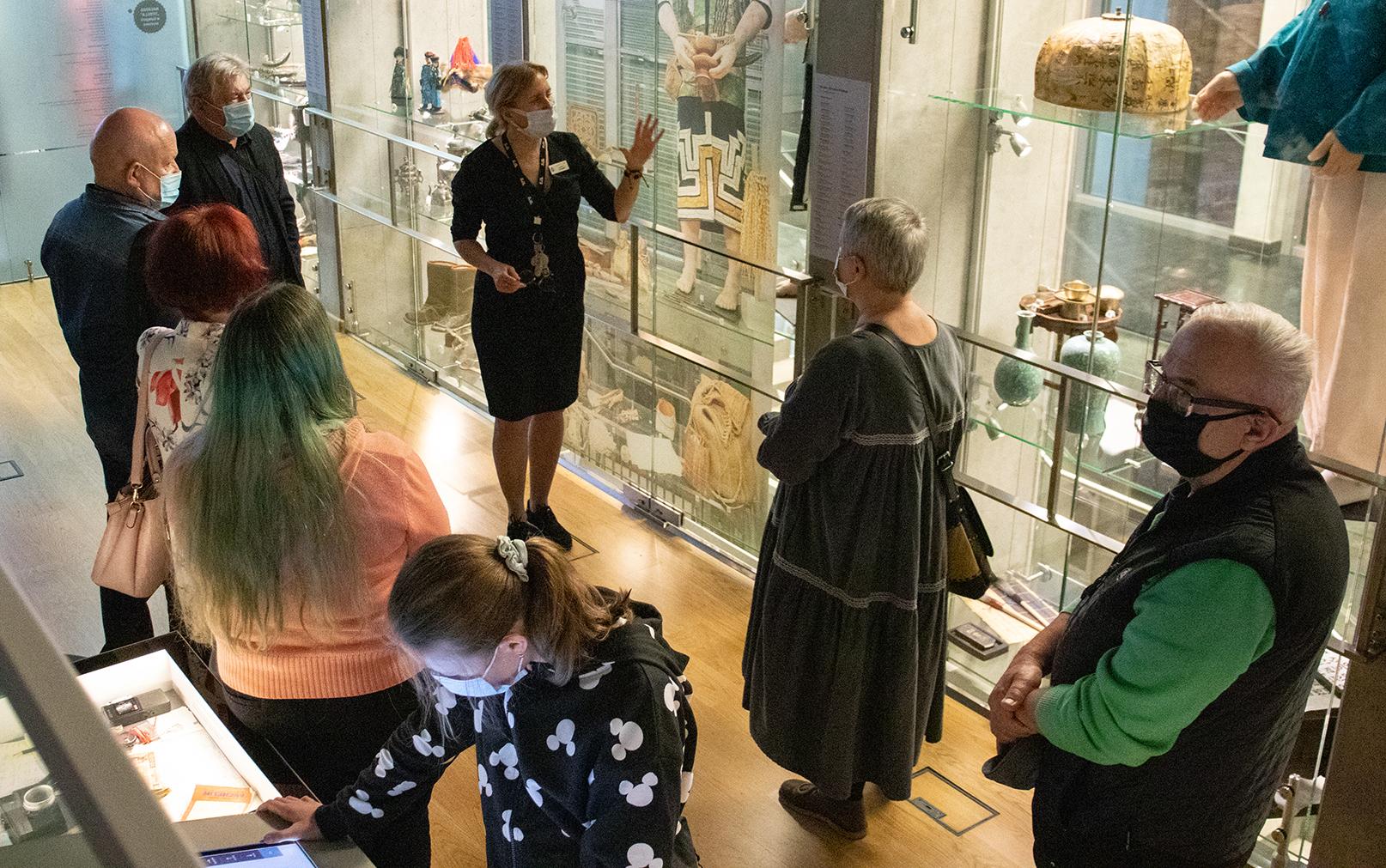 Noc Muzeów 2021 Żory – oprowadzanie po wystawie