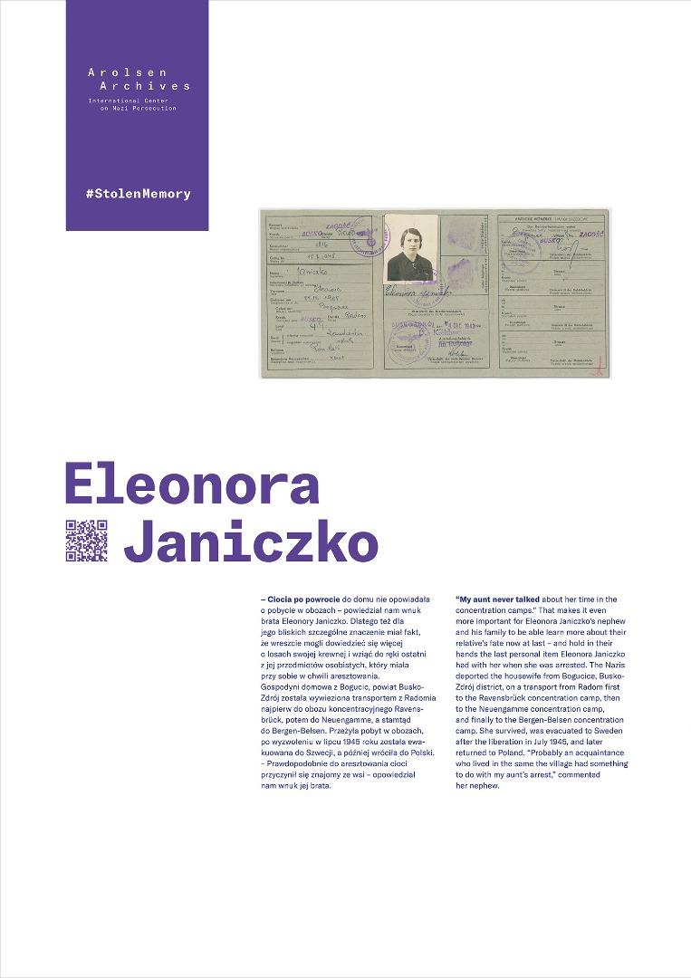 StolenMemory  Eleonora Janiczko
