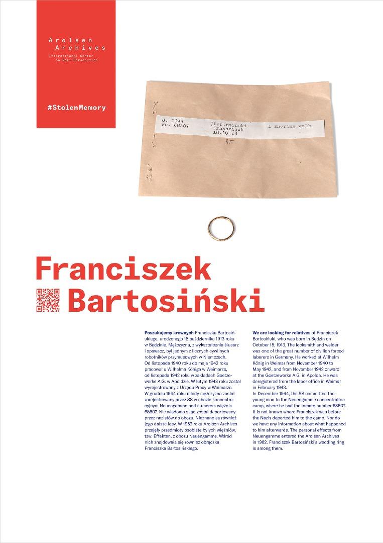 StolenMemory Franciszek Bartosiński