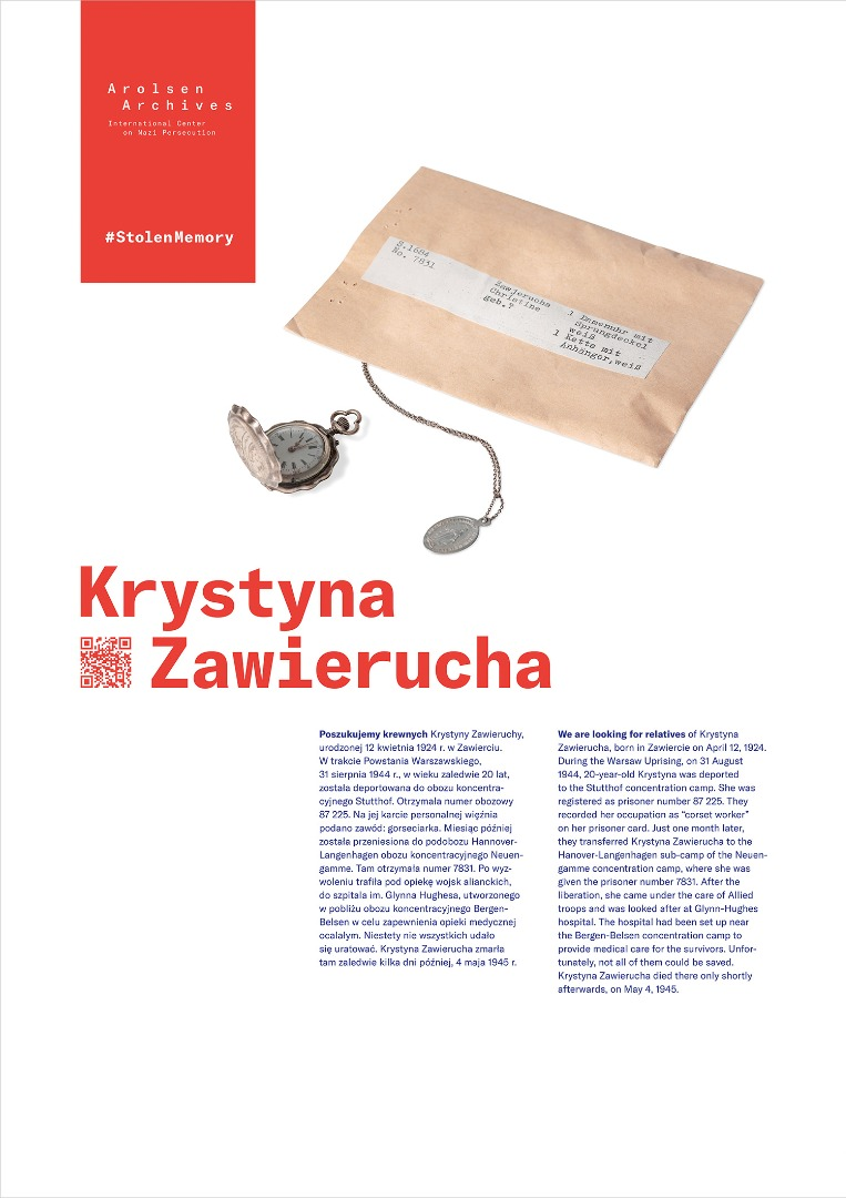 StolenMemory Krystyna Zawierucha