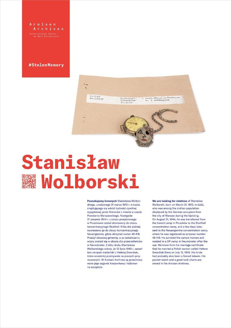 StolenMemory Stanisław Wolborski