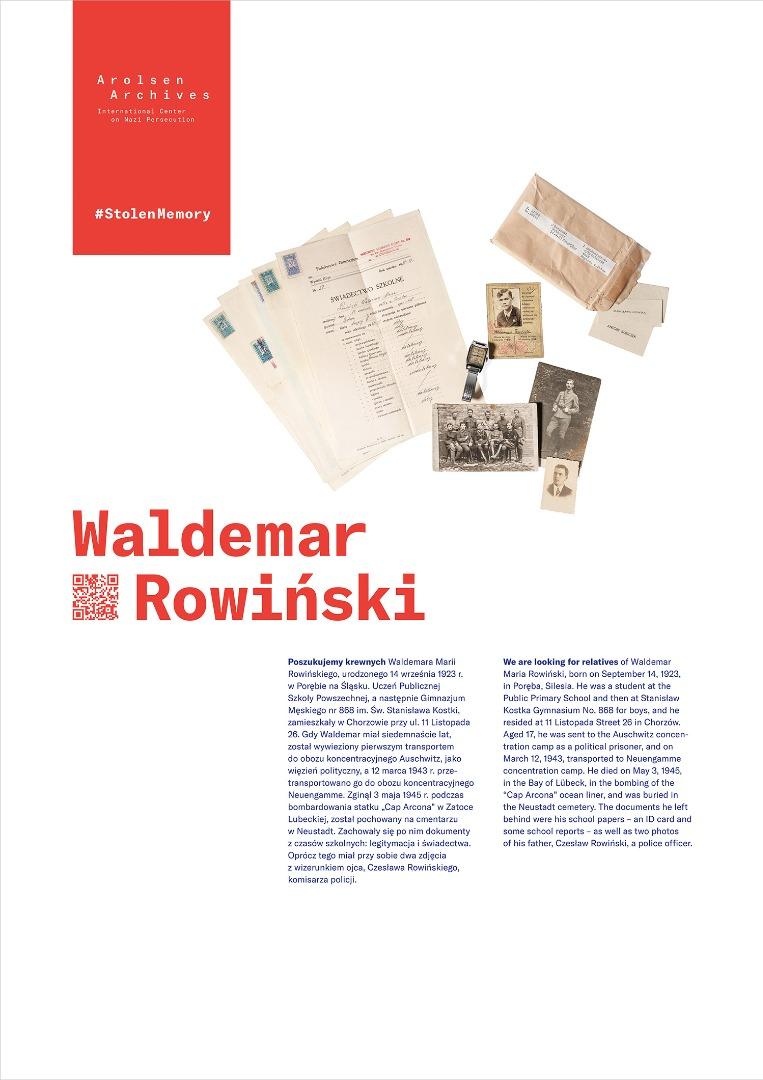 StolenMemory Waldemar Rowiński