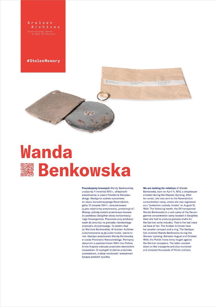 StolenMemory Wanda Benkowska