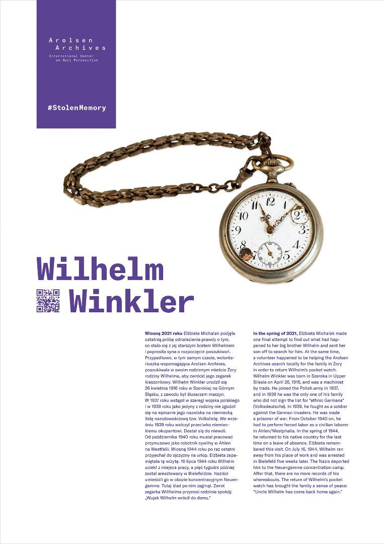 StolenMemory Wilhelm Winkler